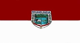 Nhamundá - Image: Bandeira de Nhamundá