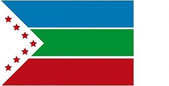 Zarcero (canton) - Image: Bandera zarcero (1)