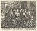 Banket in het huis van Tarquinius De geschiedenis van Lucretia (serietitel), RP-P-OB-10.085.jpg