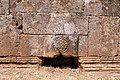 Baptistery, Bashmishli (باشمشلي), Syria - Detail of lower wall of east façade - PHBZ024 2016 4335 - Dumbarton Oaks.jpg