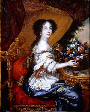 Barbara Palmer, 1st Duchess of Cleveland - Portrait by Henri Gascar