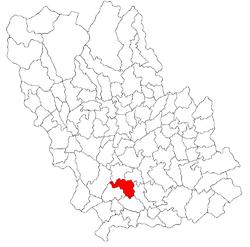 Vị trí của Barcanesti