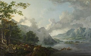 View of Windermere Lake, early morning