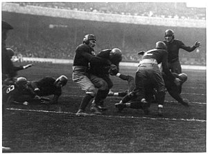 1921 Georgia Tech Golden Tornado football team - Barron's touchdown against Penn State