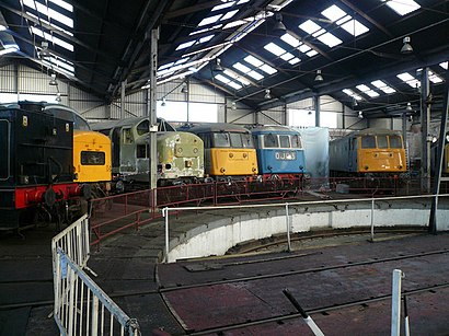How to get to Barrow Hill Roundhouse with public transport- About the place