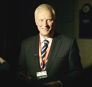 Barry Hearn - Barry Hearn during the Masters 2012