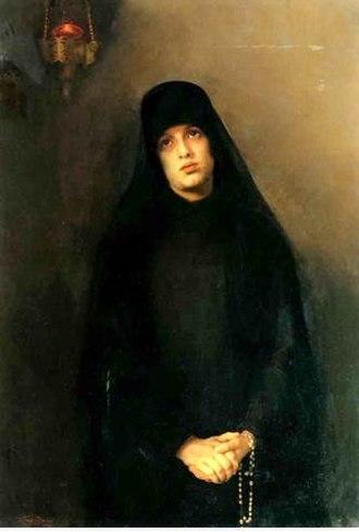 Varvara Baruzdina - The Nun