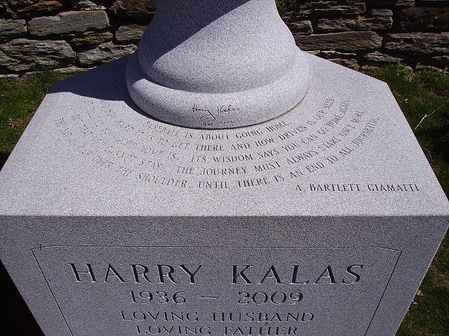 FileBaseball Quote On Harry Kalas TombstoneJPG Wikimedia Commons Best Baseball Quote