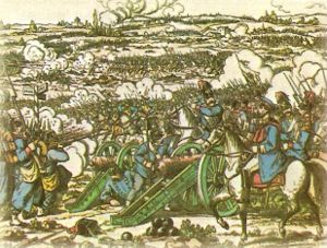 Austro-Prussian War - The Battle of Königgrätz.