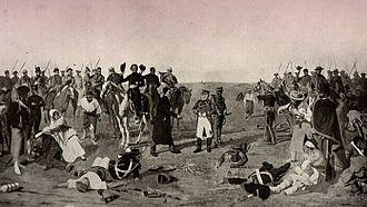 Battle of Las Piedras (1811) - Surrender of Posadas at Las Piedras, by Juan Manuel Blanes.