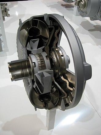Torque converter - ZF torque converter cut-away