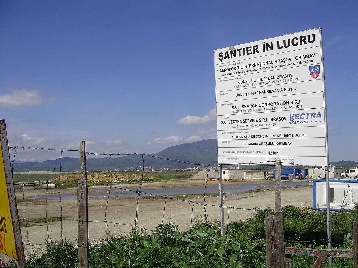 File Baustelle Flughafen Brasov Mai 2019 Jpg Wikimedia Commons