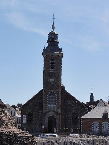 Bavay (Nord, Fr) église paroissiale Notre-Dame de l'Assomption