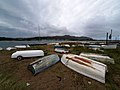 Beached rowing boats at Deganwy - geograph.org.uk - 580475.jpg