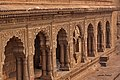 Beautiful verandah inside Maheshwar temple.jpg