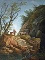 Beaux-Arts de Carcassonne - Paysage aux grands rochers - Hubert Robert -Joconde04400000563.jpg