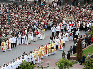 Queen of Angels Foundation - A Corpus Christi Procession in Belarus