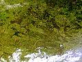 Belarus satellite image MODIS Terra true color 2010-06-29.jpg