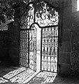 Belgrád székesegyház (Görögkeleti Püspöki Főszékesegyház, Pátriárka utca 5.) Alkotmány utcai kertkapuja. Fortepan 21863.jpg