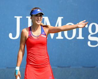 Belinda Bencic - Bencic at the 2013 US Open