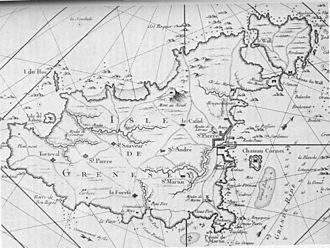 Braye du Valle, Guernsey - Guernsey 1757