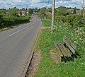 Bench along Brascote Lane - geograph.org.uk - 1287094.jpg