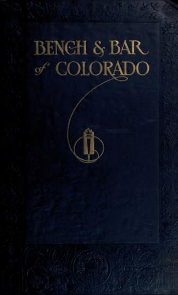 File:Bench and bar of Colorado - 1917.djvu