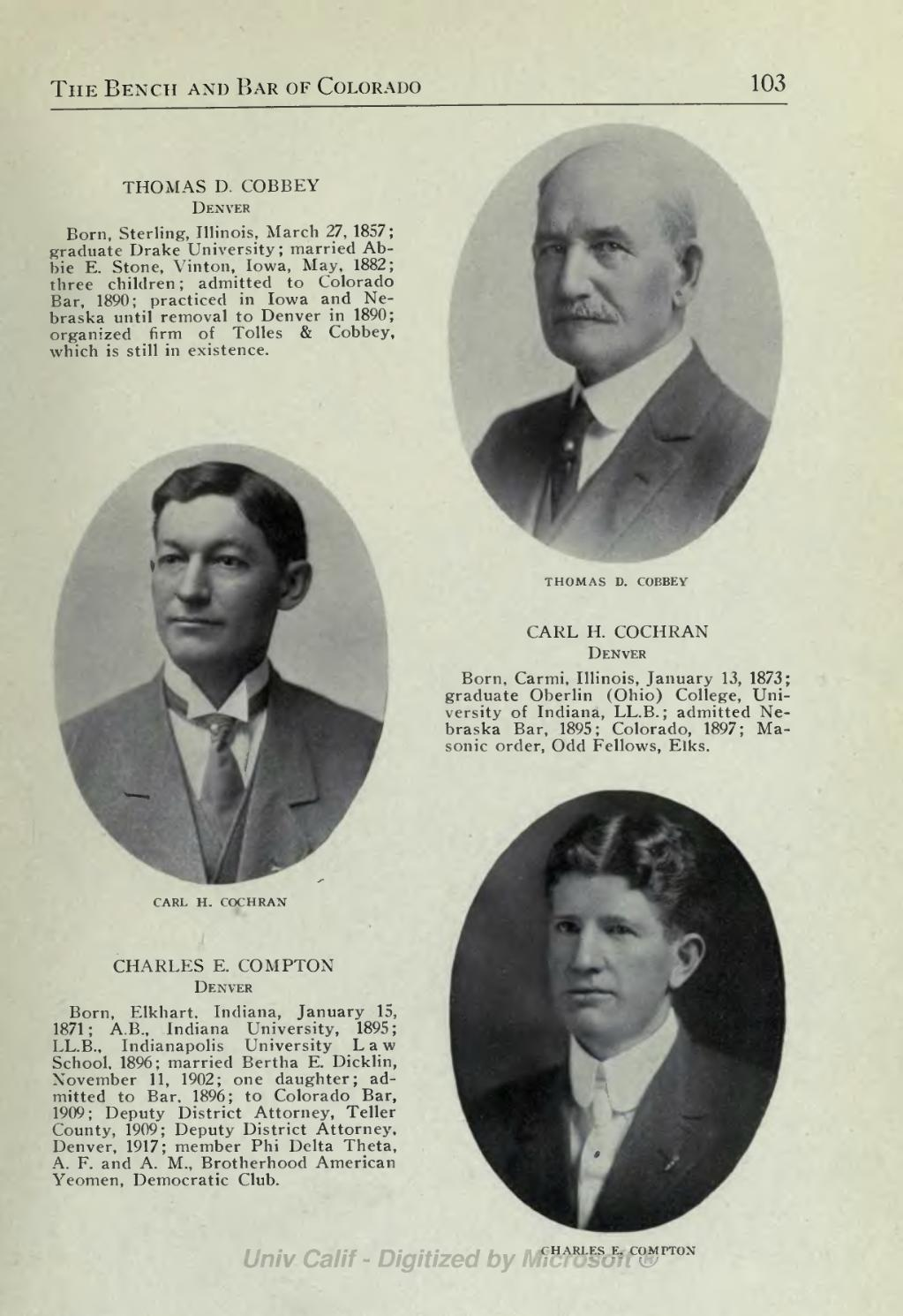 Page:Bench and bar of Colorado - 1917 djvu/107 - Wikisource