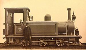 Bengal Provincial Railway - 2-4-0T locomotive No 5 of Bengal Provincial Railway, 1905