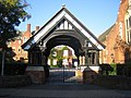 Berkhamsted Collegiate School, The Lych Gate - geograph.org.uk - 590521.jpg
