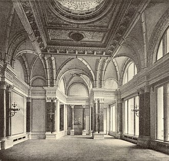 Palais Strousberg - Photograph of the great hall