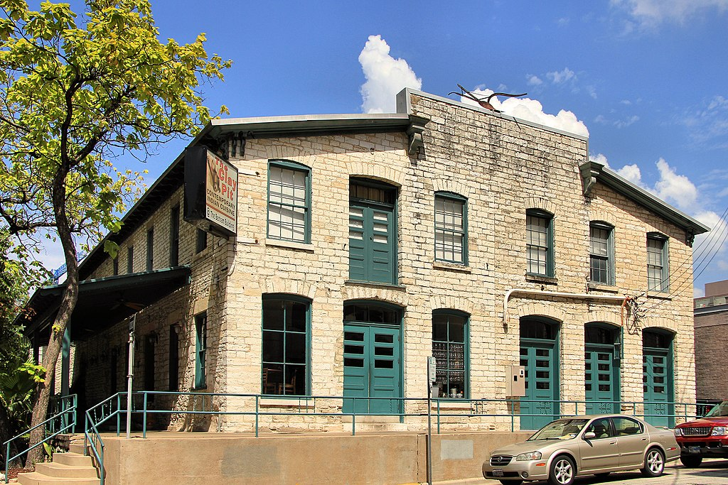 bertram building, one of the most haunted places in austin