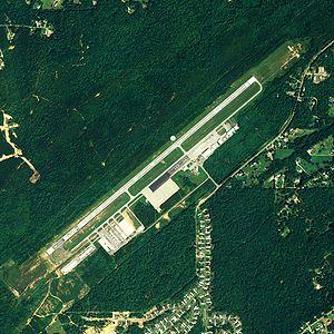Bessemer Airport - NAIP aerial image, 2006