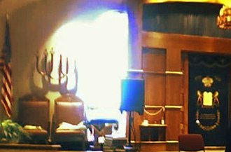 Beth Sholom Congregation (Frederick, Maryland) - The sanctuary at Beth Sholom's community center location