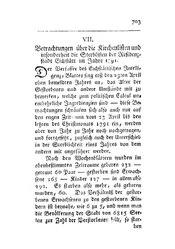 Betrachtungen über die Kirchenlisten und insonderheit die Sterblisten der Residenzstadt Eichstätt im Jahre 1791, S. 703-710