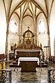 Bielle, Pyrénées Atlantiques, Eglise Saint-Vivien, retable du maitre autel IMGP0853.jpg