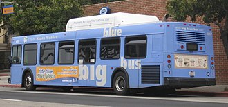 Big Blue Bus - Image: Big Blue Bus 4057