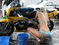 Bikini Bikewash fundraiser for Auckland Hospital Spinal Unit 07.jpg