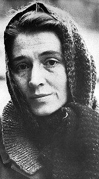 Birgitta Trotzig omkring 1960.