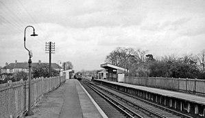 Birkbeck station - Birkbeck Station in 1961