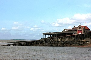 Weston-super-Mare Lifeboat Station - Image: Birnbeck Pier Lifeboat Station