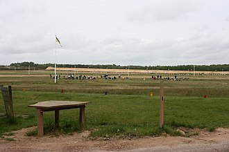 National Shooting Centre - Shooting positions
