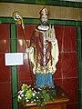 Bléharies, Saint patron de l'église Saint-Aybert.jpg