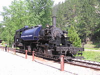 A preserved 2-6-6-2 Mallet