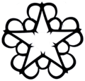 Black Veil Brides star logo.png