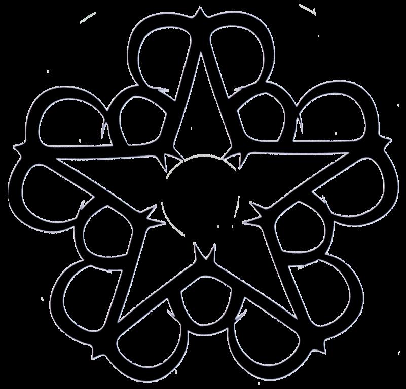 Renegade Logo Png >> File:Black Veil Brides star logo.png - Wikimedia Commons