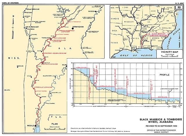 Black Warrior And Tombigbee Lakes