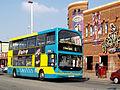 Blackpool Transport bus 328 (PF06 EZL), 17 April 2009.jpg