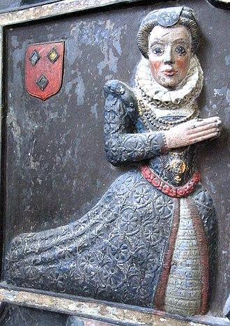 Arwenack - Image: Blanche Killigrew Tawstock Church