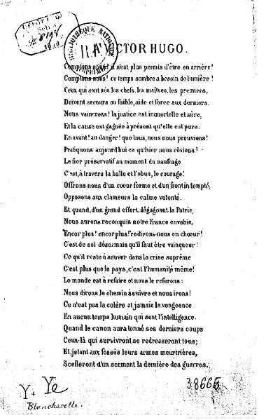 File:Blanchecotte - À Victor Hugo, 1870.djvu